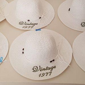 כובע לחורף\ קיץ עם רקמה